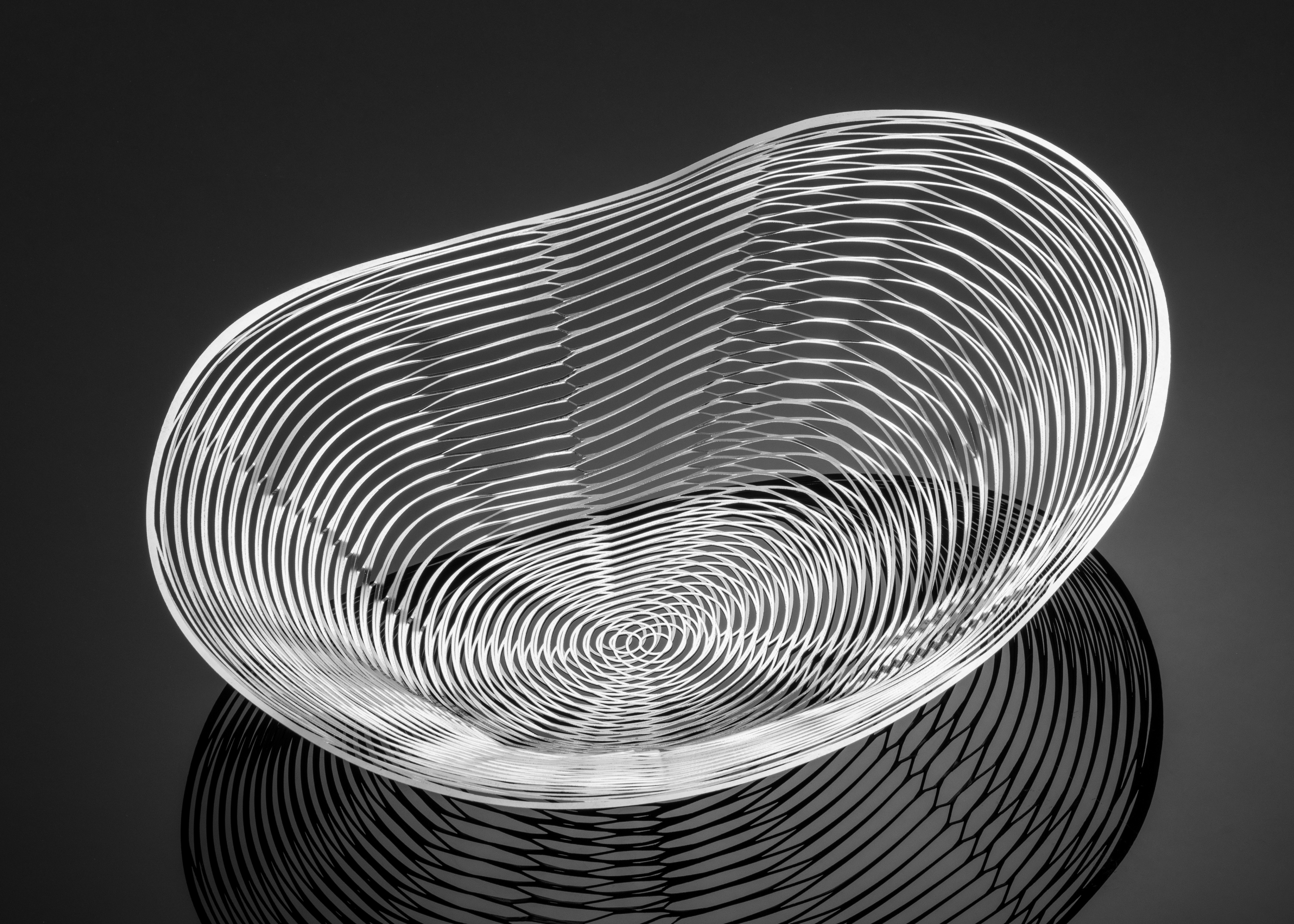 Ripple M by Metal Lace Art