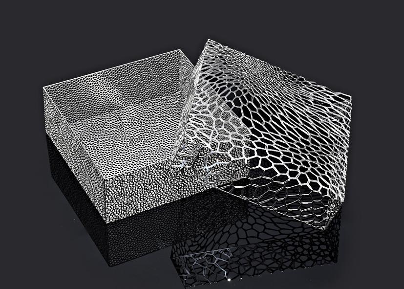 Organic Lace M by Metal Lace Art