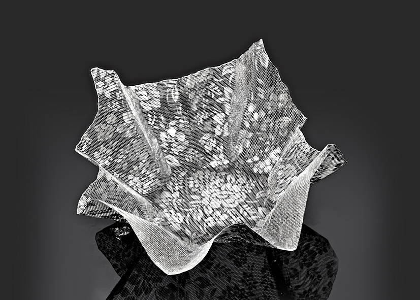 Floral Mesh -S by Metal Lace Art