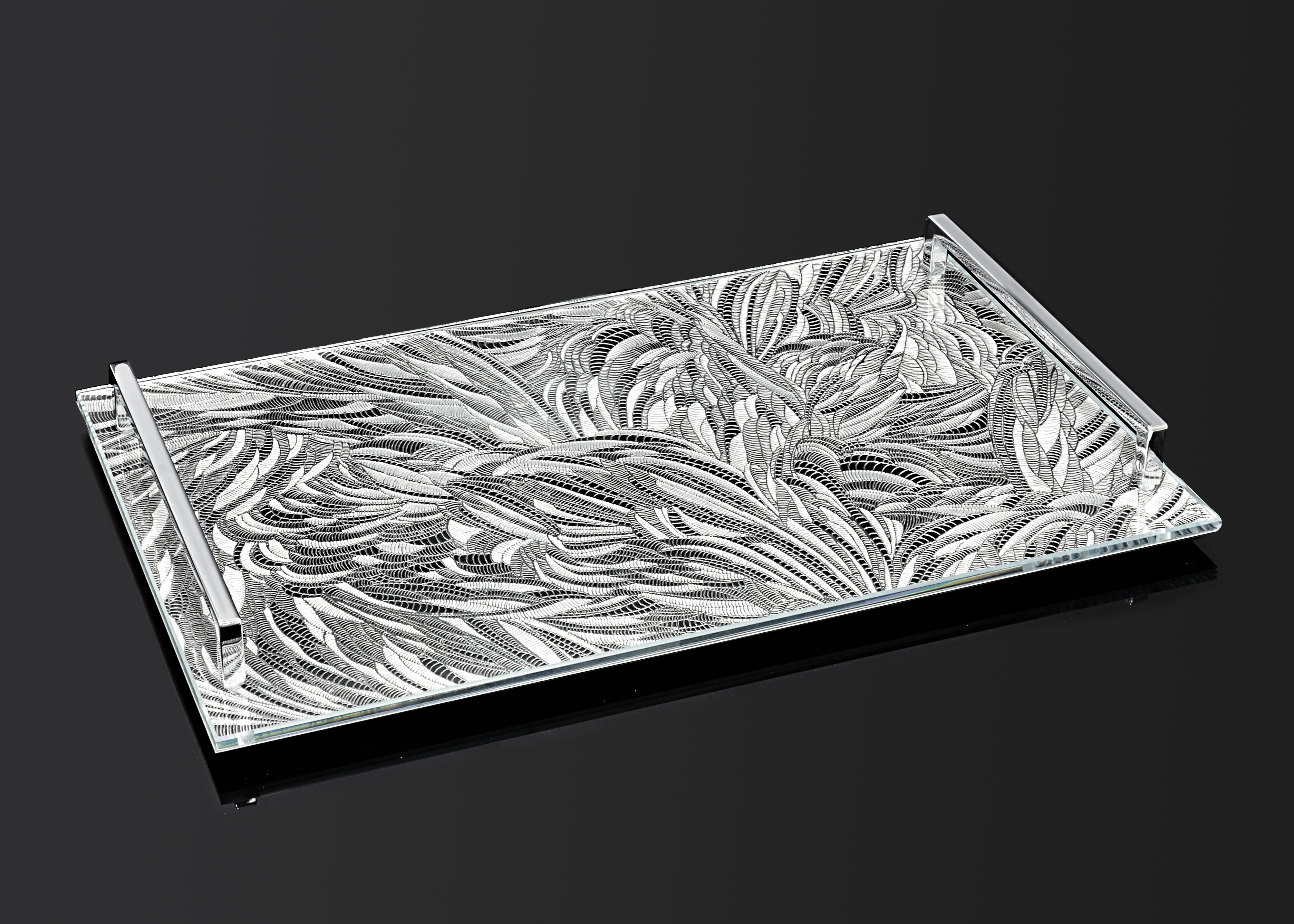 Chaos- Serving Challah Board - B by Metal Lace Art