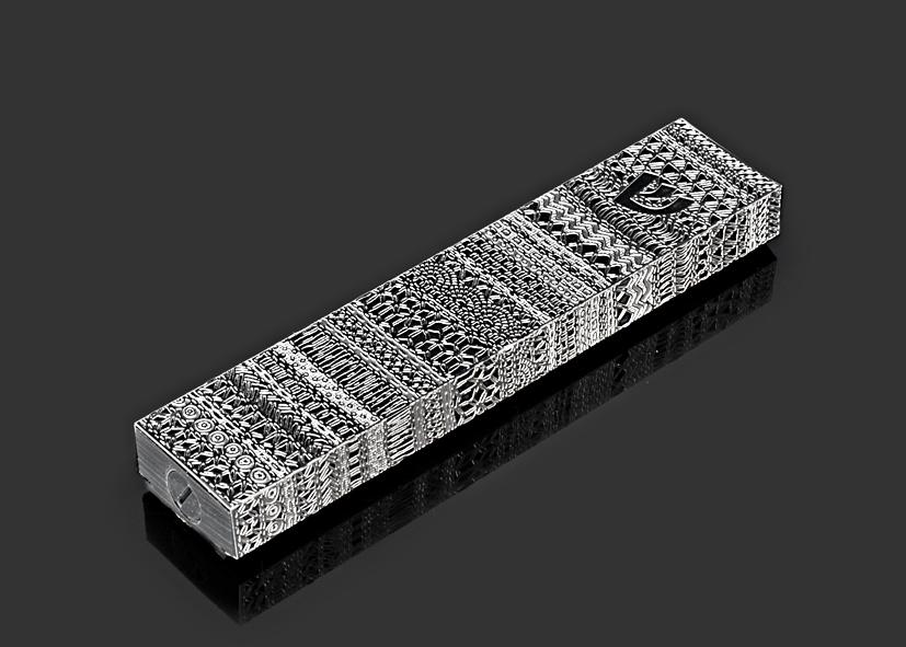Ribbon Lace L -B by Metal Lace Art