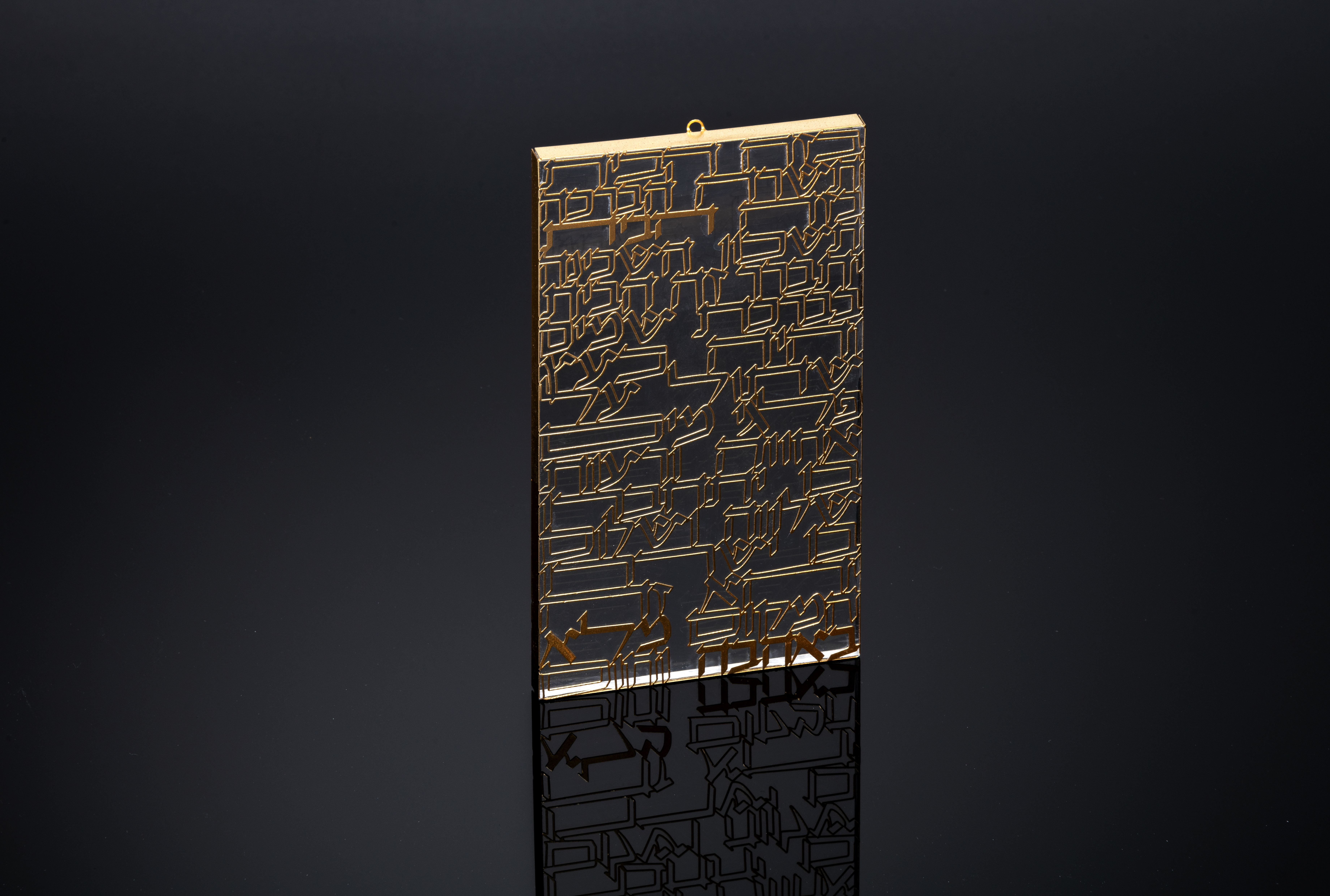 Home Blessing Gold - S by Metal Lace Art