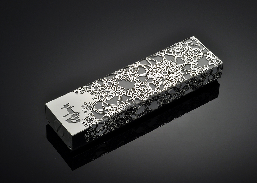 Late Blooming M by Metal Lace Art