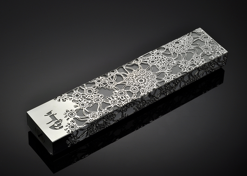 Late Blooming L by Metal Lace Art