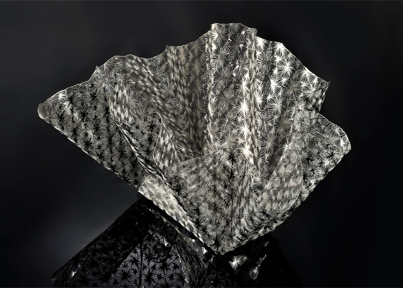 Lace Shell XL by Metal Lace Art
